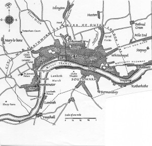 London about 1600