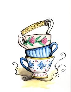 Tea cups Abby